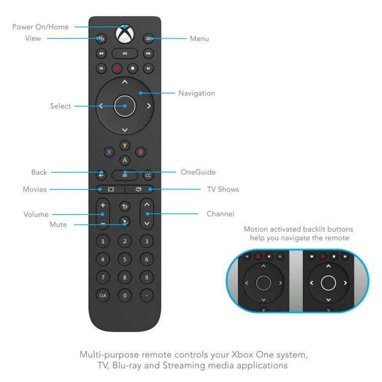 PDP Media-Fernbedienung für Microsoft Xbox One und Series X S